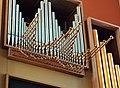 Roma, chiesa di San Pio X - Organo a canne, Tromba orizzontale 8'.jpg