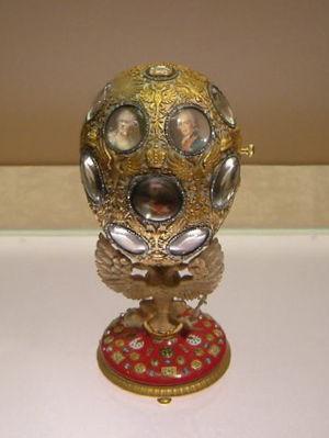 Romanov Tercentenary (Fabergé egg) - Romanov Tercentenary Egg