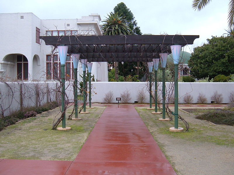 Description rosicrucian park peace garden trellis jpg