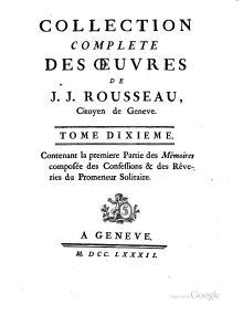 Jean Jacques Rousseau Wikisource