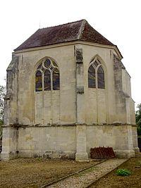 Rouville (60), église Saint-Fuscien, vue depuis le sud-est.JPG