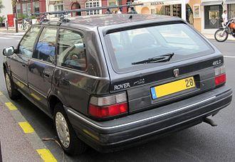 Rover 400 / 45 - Rover 400 Tourer (Europe)