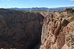 Royal Gorge Bridge in October 2012