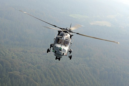 Royal Navy Wildcat Helicopter MOD 45158427