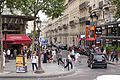 Rue de Marignan, Paris 11 August 2015.jpg