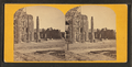 Ruins of the Circular Church & Secession Hall, Charleston, from Robert N. Dennis collection of stereoscopic views.png