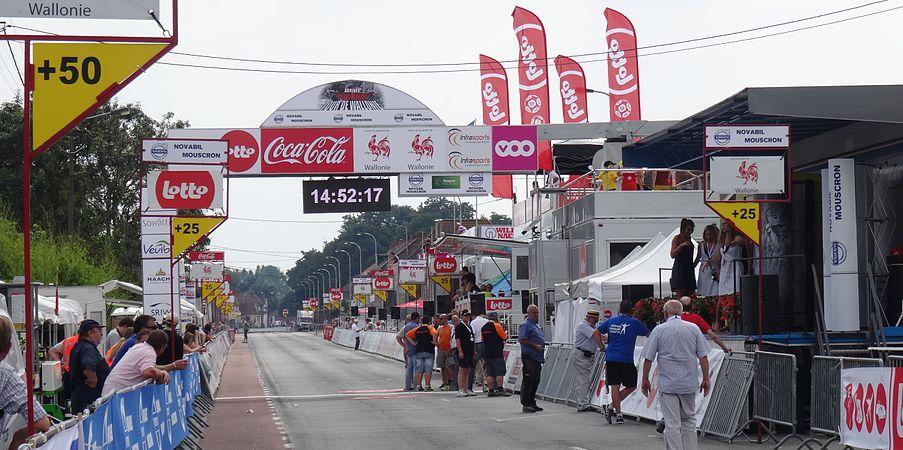 Rumillies (Tournai) - Tour de Wallonie, étape 1, 26 juillet 2014, arrivée (A15).JPG