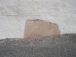 Italy runestones - Runestone U 133, second fragment