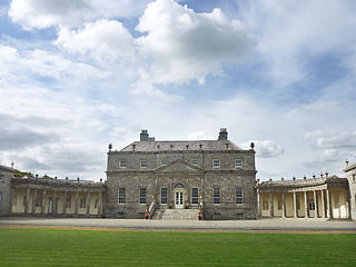 Russborough, Co. Wicklow: a notable example of Irish Palladianism[23]