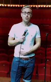 Russell Howard British comedian and presenter