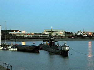 Russian Submarine, Strood - geograph.org.uk - 195243.jpg
