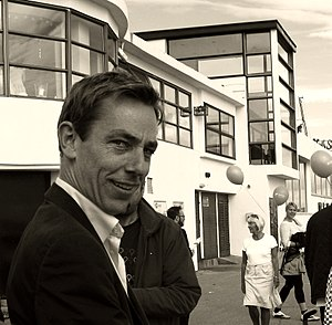 Ryan Tubridy - Ryan Tubridy in Bray on his last day of presenting The Tubridy Show (2010)