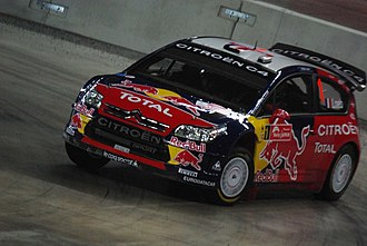 Citroën World Rally Team - Image: Sébastien Loeb 2008 Rally Japan
