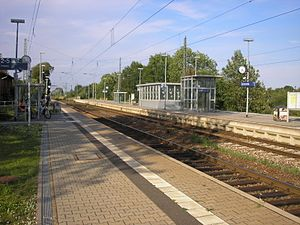 Sangerhausen–Erfurt railway - Sömmerda station