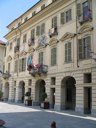 San Damiano d'Asti - Image: S.Damiano Palazzo comunale