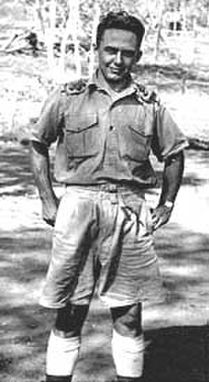 Samuel Warren Carey - Carey in New Guinea, 1942.