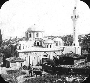 Chora Church - Chora Church, Istanbul, Turkey, 1903. Survey 1903. Constantinople; Church of the Chora; Brooklyn Museum Archives, Goodyear Archival Collection