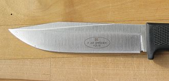 Fällkniven - Fallkniven S1, first production stamp.
