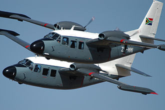 Piaggio P.166 - South African Air Force