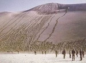 2 South African Infantry Battalion - SADF 2 SAI exercise on Dune 7