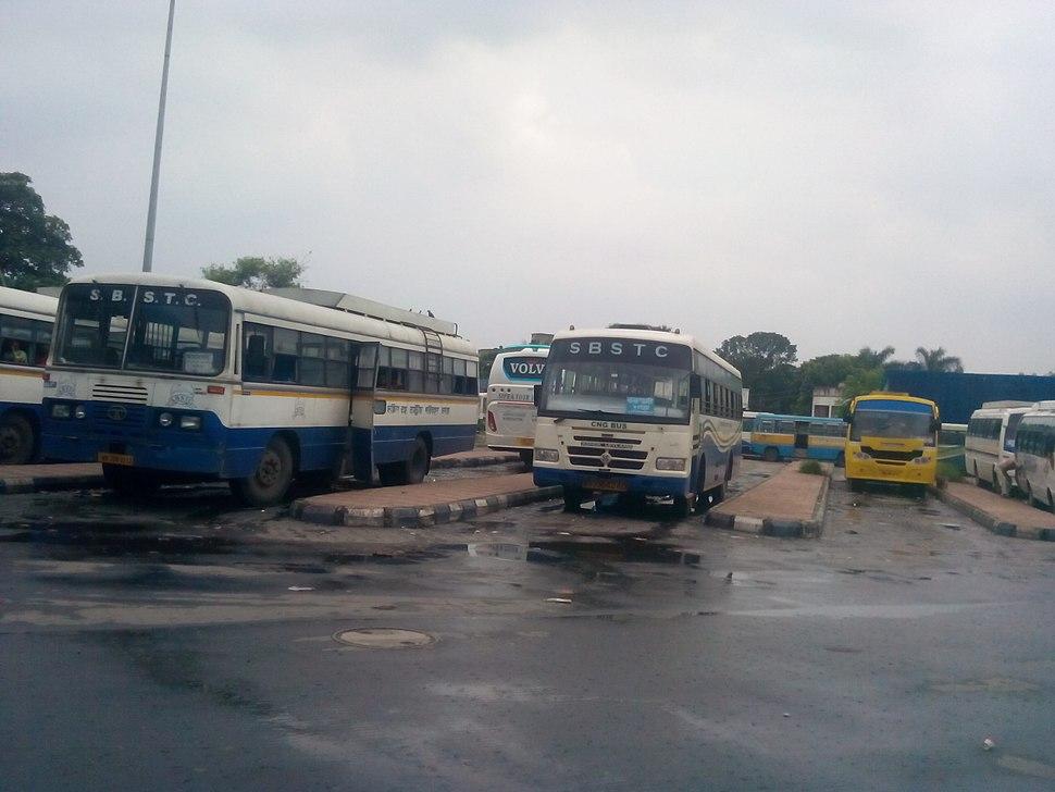 SBSTC bus in karunamoyee