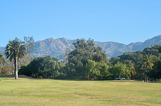 Mission Park, Santa Barbara - Image: SB Mission Park East 20140909