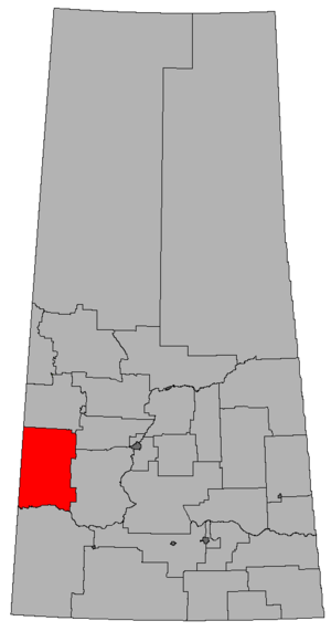 Kindersley (provincial electoral district) - Image: SK 2016 Kindersley
