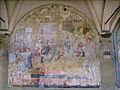 SMN Chiostro Grande s06 Giammaria Casini, Sant'Antonio si reca da papa Pio II in qualità di ambasciatore della Repubblica Fiorentina.JPG