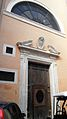 S M sopra Minerva ingresso posteriore Giubileo 1600 A070003.JPG