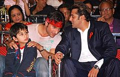 Salman Khan in a conversation with Saif