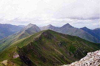Sàileag mountain in United Kingdom