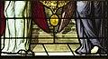 Saint-Chapelle de Vincennes - Baie 2 - Deux anges présentant les armes de France (détail) (bgw17 0496).jpg