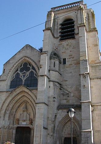 Saint-Dizier - Image: Saint Dizier Eglise Notre Dame 200908