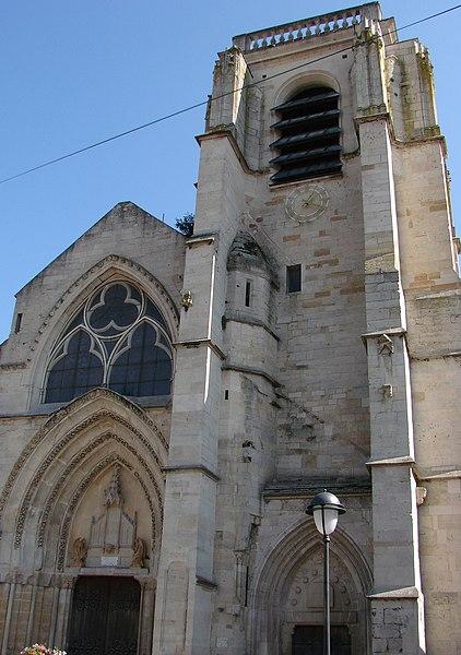 L'église Notre-Dame à Saint-Dizier.
