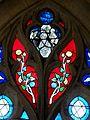 Saintines (60), église St-Jean-Baptiste, nef nord, fragment de vitrail du XVIe s., baie n° 5.jpg