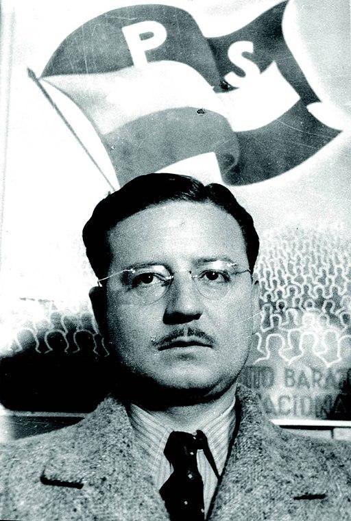 Salvador Allende joven