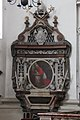 Salzburg Cathedral - cenotaph Archbishop Jakob Ernst von Liechtenstein 01.jpg