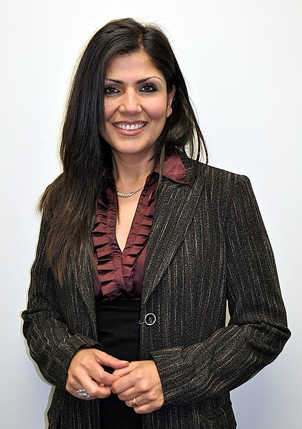 Samah Sabawi is a Palestinian dramatist, writer and journalist. Samah Sabawi 2.jpg
