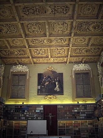 Gaspare Nadi - Interior of the library of San Domenico