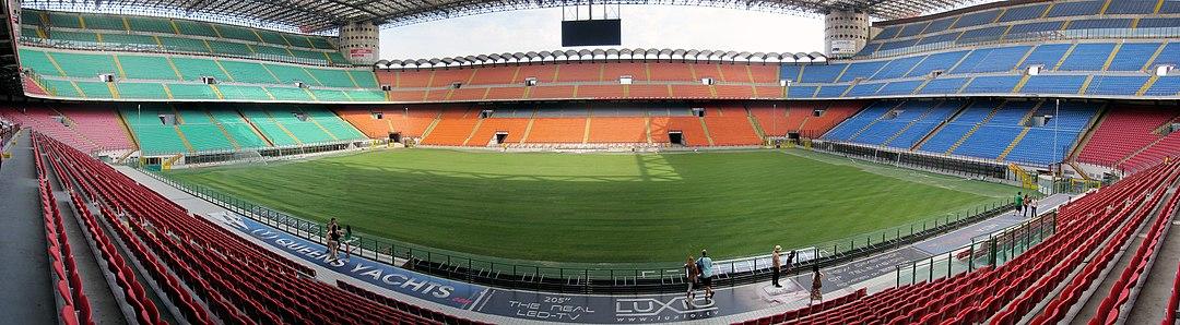 Panorama del estadio.