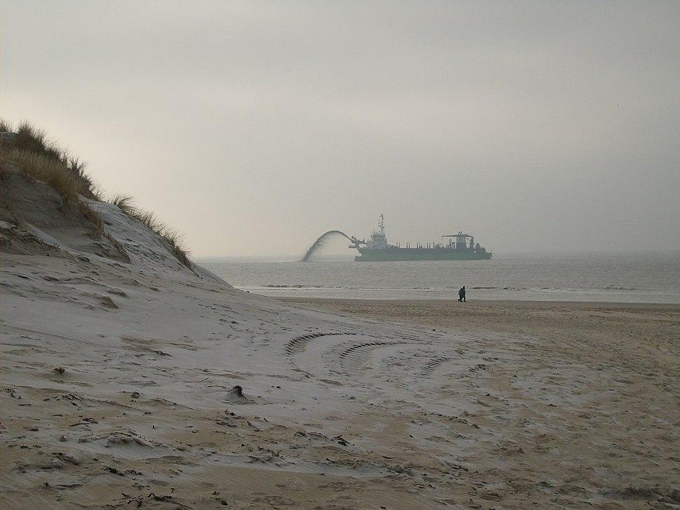 Sand suppletion on the Dutch coast 2