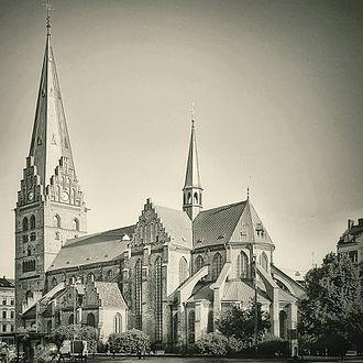 Sankt Petri Church, Malmö - Image: Sankt Petri kyrka 2017
