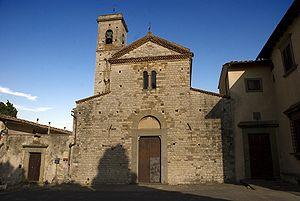 Scandicci - Pieve of Sant'Alessandro a Giogoli.