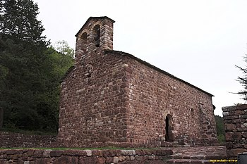 Iglesia de Sant Vicenç de Rus
