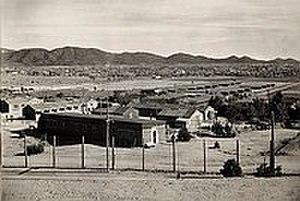 Santa Fe riot - The Santa Fe Internment Camp