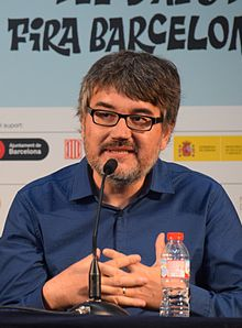Santiago García. Barcelona Internacional Comic Convention 2016.JPG