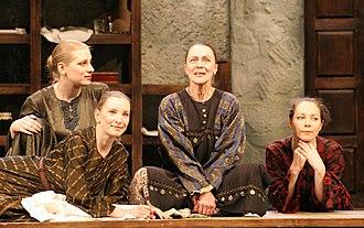 Saratov Drama Theater - Image: Sar Drama Дом Бернарды 1