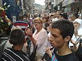 Sarajevans in funeral of 136 Srebrenica genocide victims July 2015 090720151602.jpg