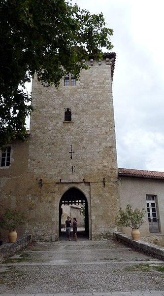 The door of the village