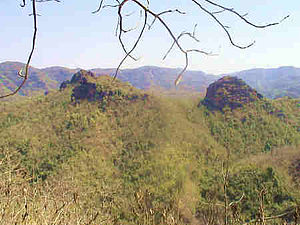 Satpura National Park - View of Satpura hills